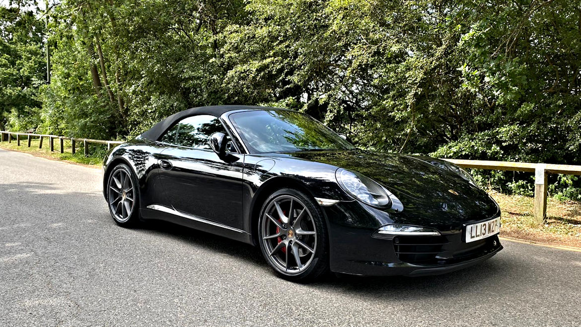 Porsche 991 C2S PDK Cabriolet Low Miles Mega Spec And Stunning Value