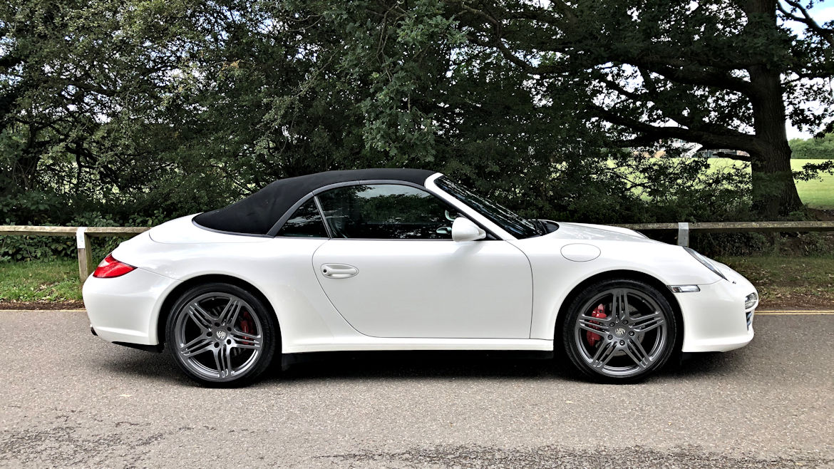 Porsche 997 Gen2 C4S PDK Cabriolet Stunning In White Superb Car