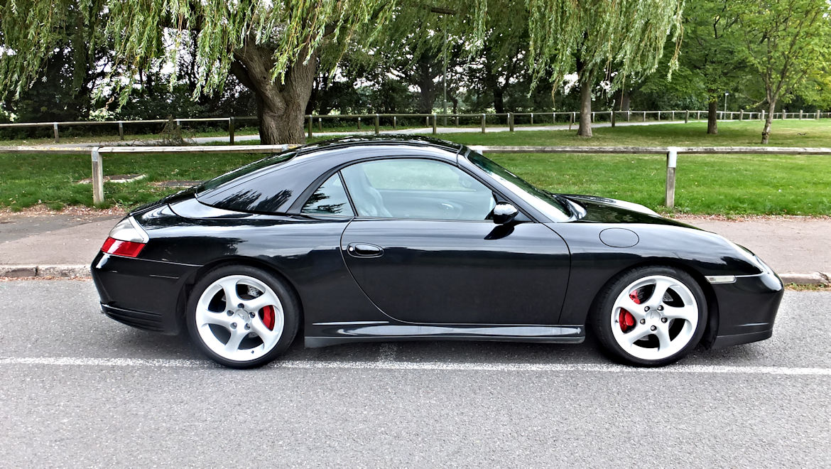 Porsche 996 C4S Cabriolet  Superb Spec Rare Manual Car