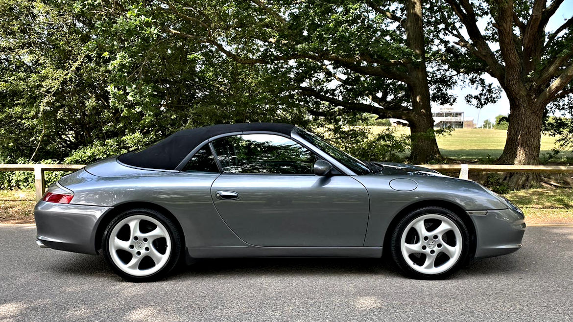 Porsche 996 C2 Cabriolet Manual Superb car With Major Work Inc Engine Rebuild Just Done
