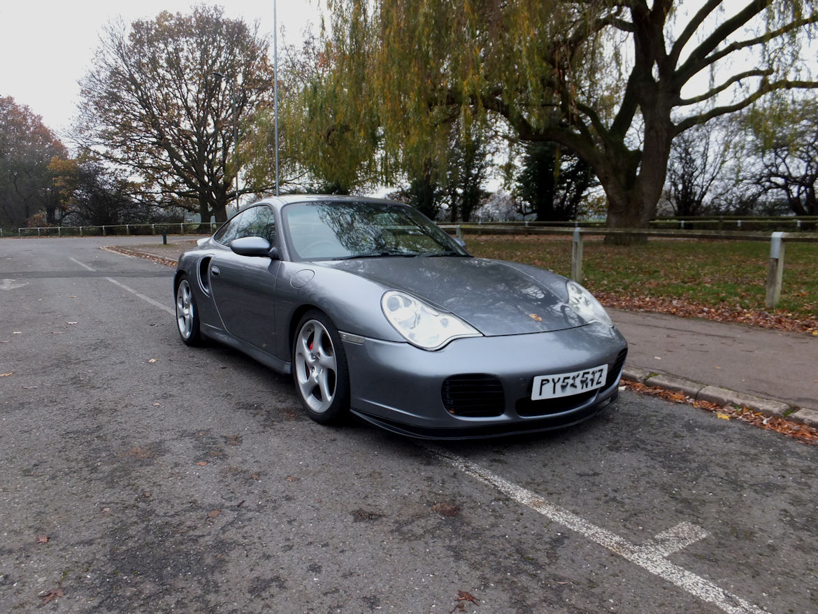 Porsche 996 Turbo X50 Manual 450BHP Superb And Rare