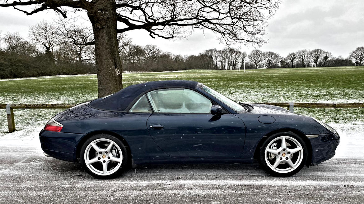 Porsche 996 C4 Cabriolet Tiptronic S In Lovely Condition Superb History