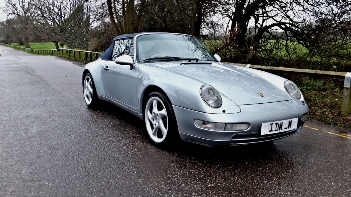 Porsche 993 C2 Cabriolet Manual Simply Outstanding 993s Do Not Come Much Nicer