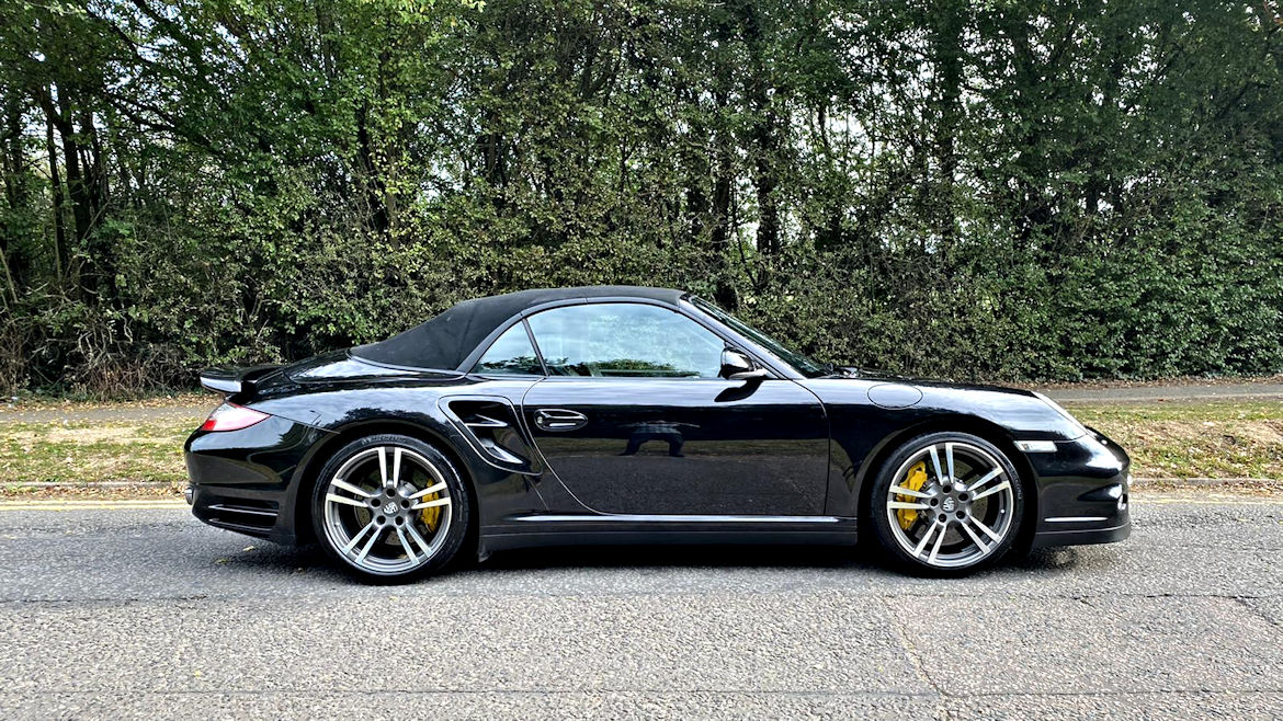 Porsche 997 Turbo S Cabriolet Simply Awesome One Of The Last Produced