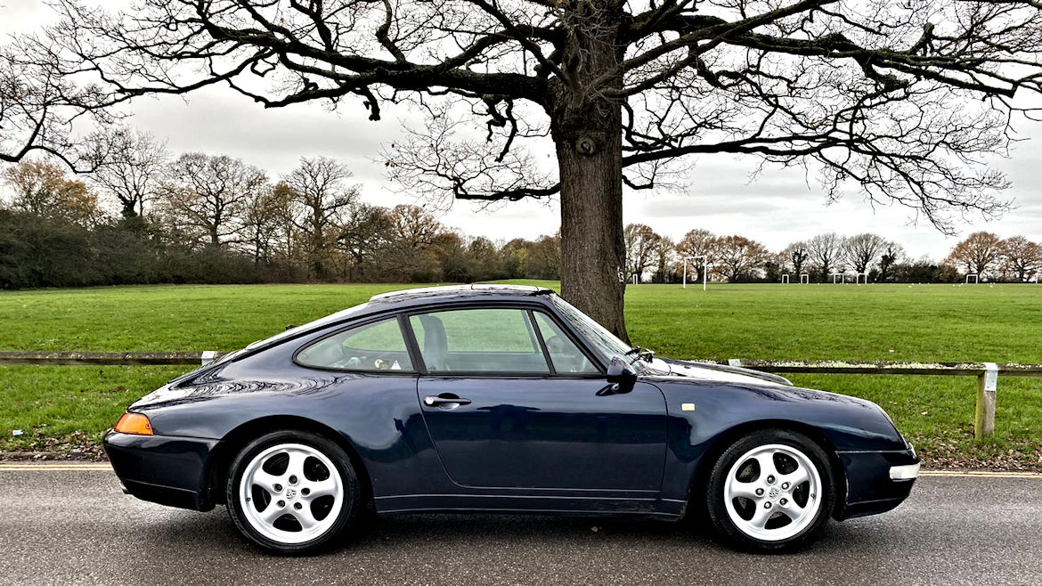 Porsche 993 C2 Tiptronic Coupe Low Mileage And In Lovely Condition
