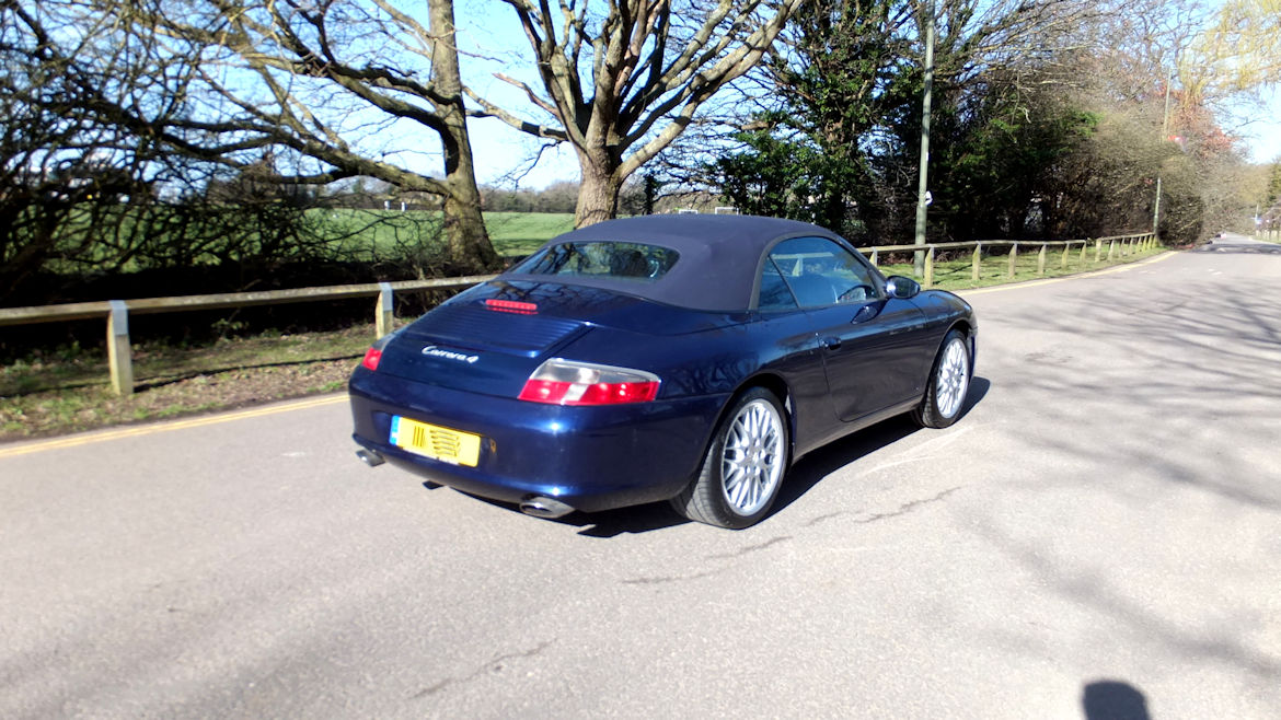 Porsche 996 C4 Cabriolet Manual Very Low Mileage And Superb
