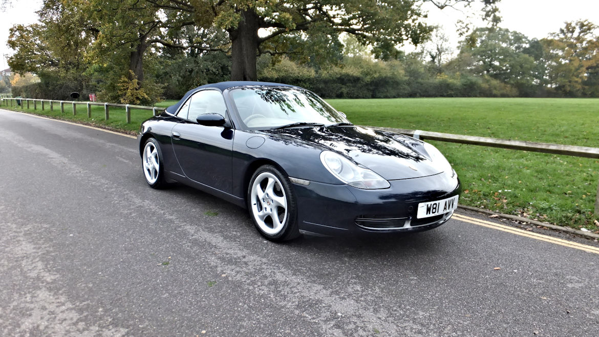 Porsche 996 c2 Cabriolet Tiptronic S Low Mileage And Lovely