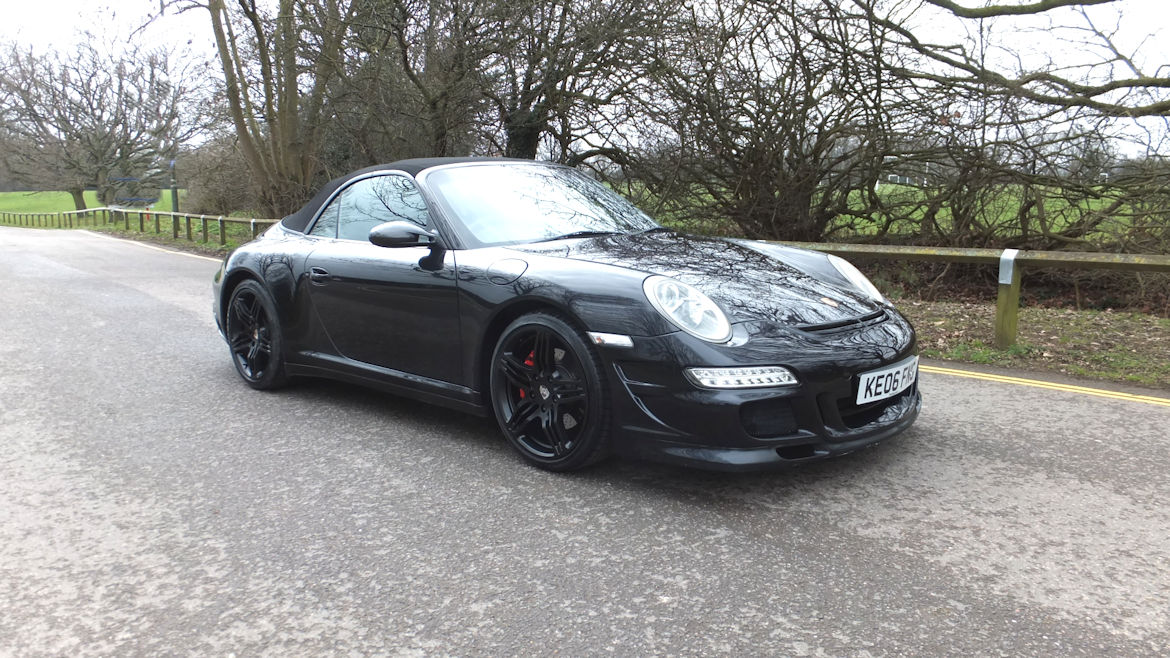 Porsche 997 C4S Cabriolet Tiptronic S Engine Rebuilt With Hartech Liners RS Bodykit And Custom Interior