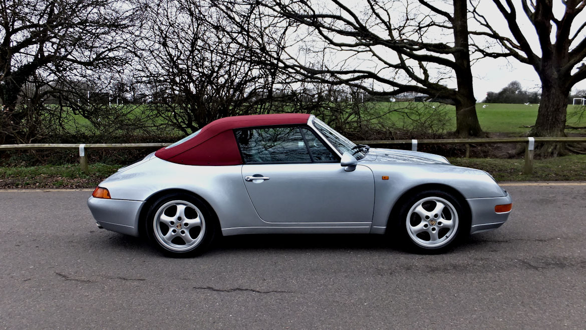 Porsche 993 C2 Cabriolet Manual Exceptional Condition And History
