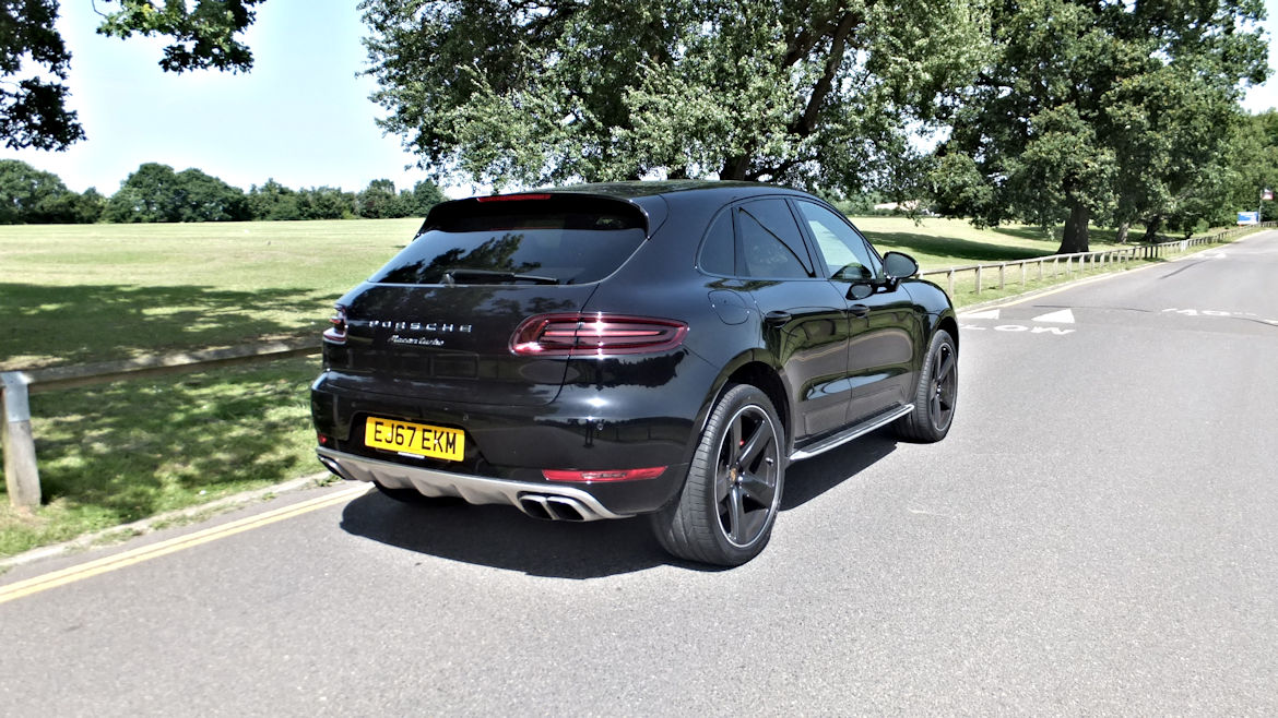 Porsche Macan Turbo S PDK Phenomenal Spec One Owner