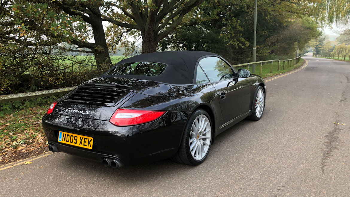 Porsche 997 Gen 2 C2S Cabriolet Rare Manual  Superb In Every Way Fabulous To Drive