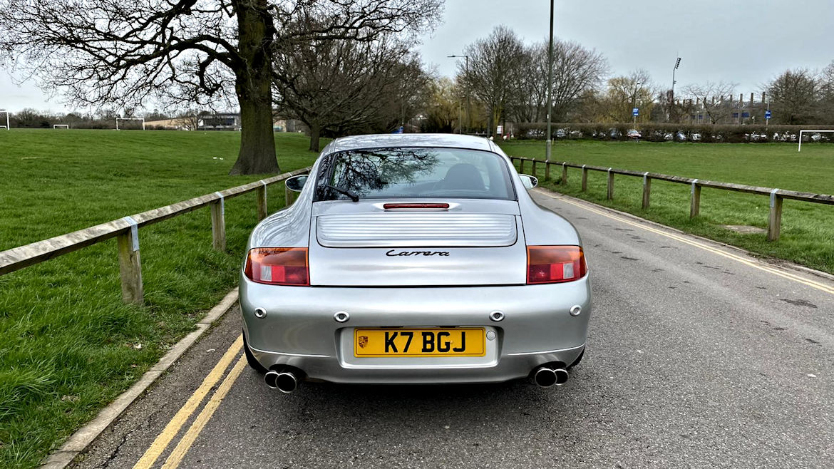 Porsche 996 C2 TiptronicS A Really Nice Original Early 996