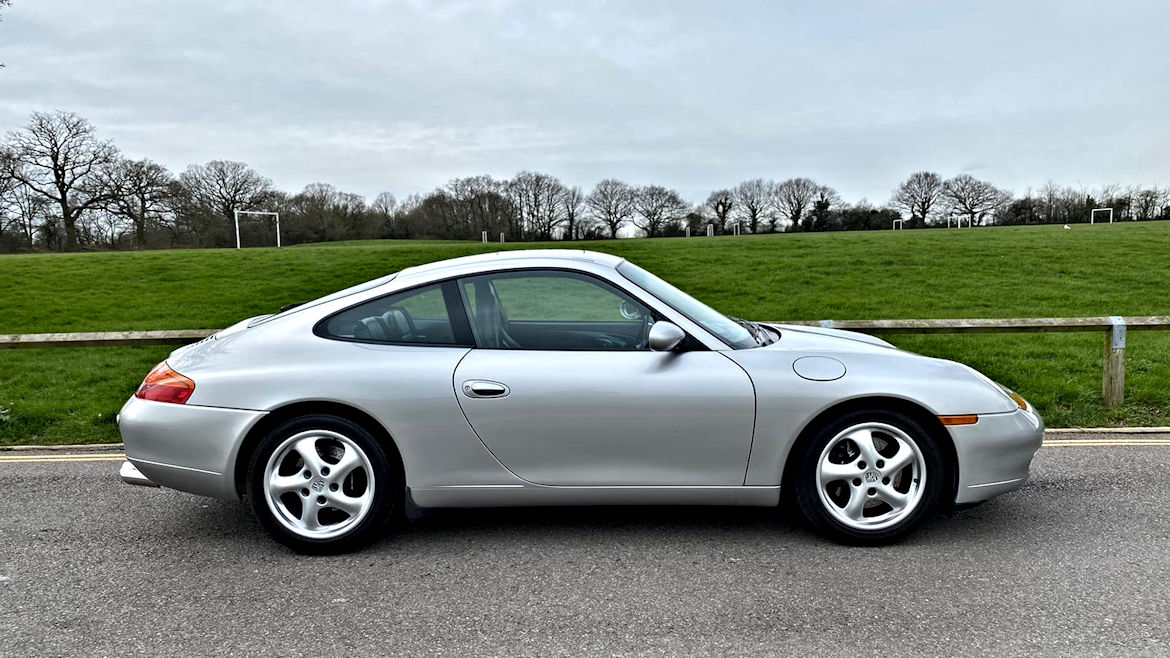 Porsche 996 C2 Tiptronic S Coupe Lovely Classic 911 Recent Engine Work The Perfect First 911