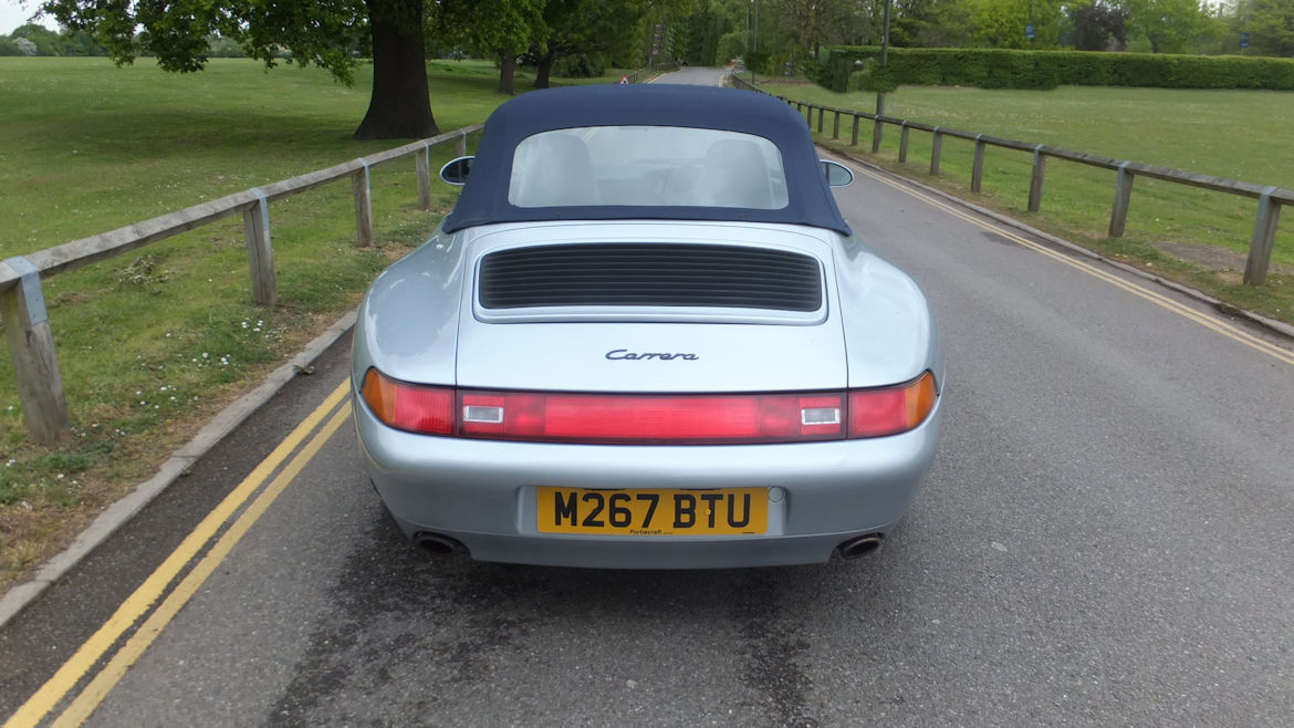 Porsche 993 C2 Cabriolet Manual Simply Superb