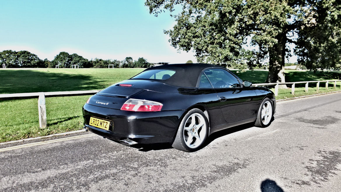 Porsche 996 C4 Cabriolet Manual  Engine Rebuilt Inc IMS Lovely Condition