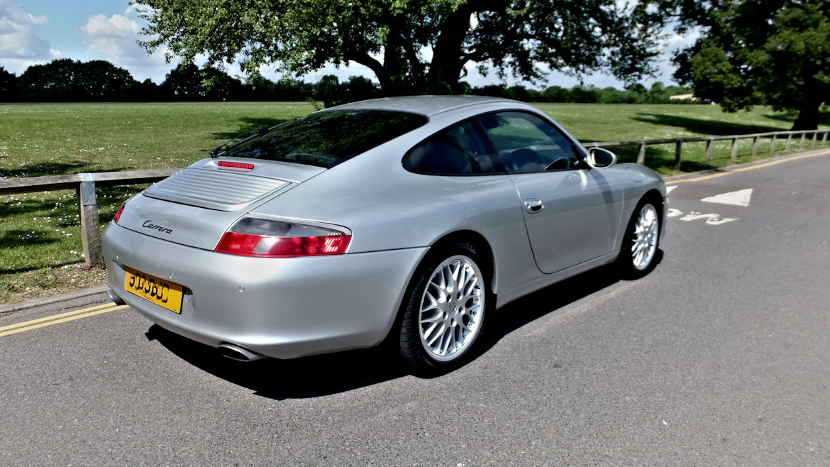 Porsche 996 C2 Coupe Tiptronic S Hartech Liners and IMS Upgrade