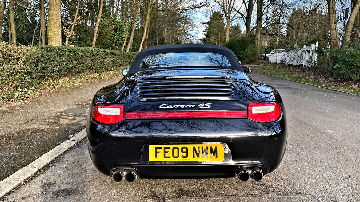 Porsche 997 C4S Gen 2 Cabriolet Manual Rare And Superb