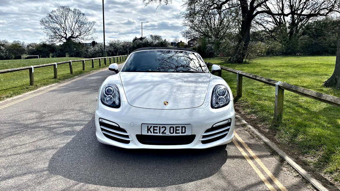 Porsche Boxster 981 PDK 2.7 One Owner Nice Spec