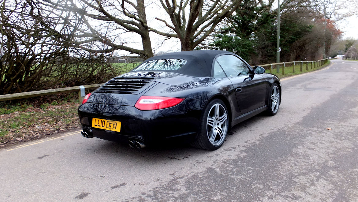 Porsche 997 Gen PDK Cabriolet Very Low mIles Superb Spec