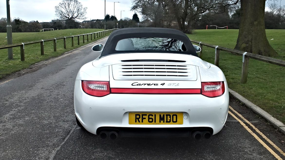 Porsche 997 C4 GTS PDK Cabriolet Low Mileage Two Owners  FPSH And Stunning