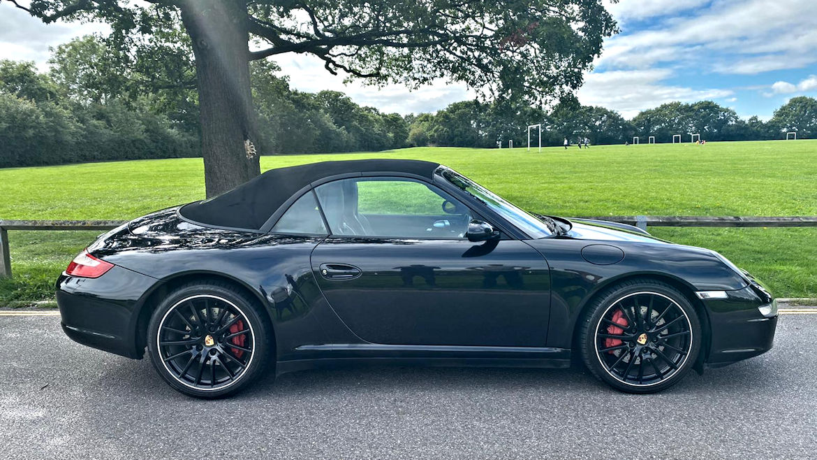 Porsche 997 C4S Tiptronic S Cabriolet Hartech Liners So Total Peace Of Mind Stunning Car