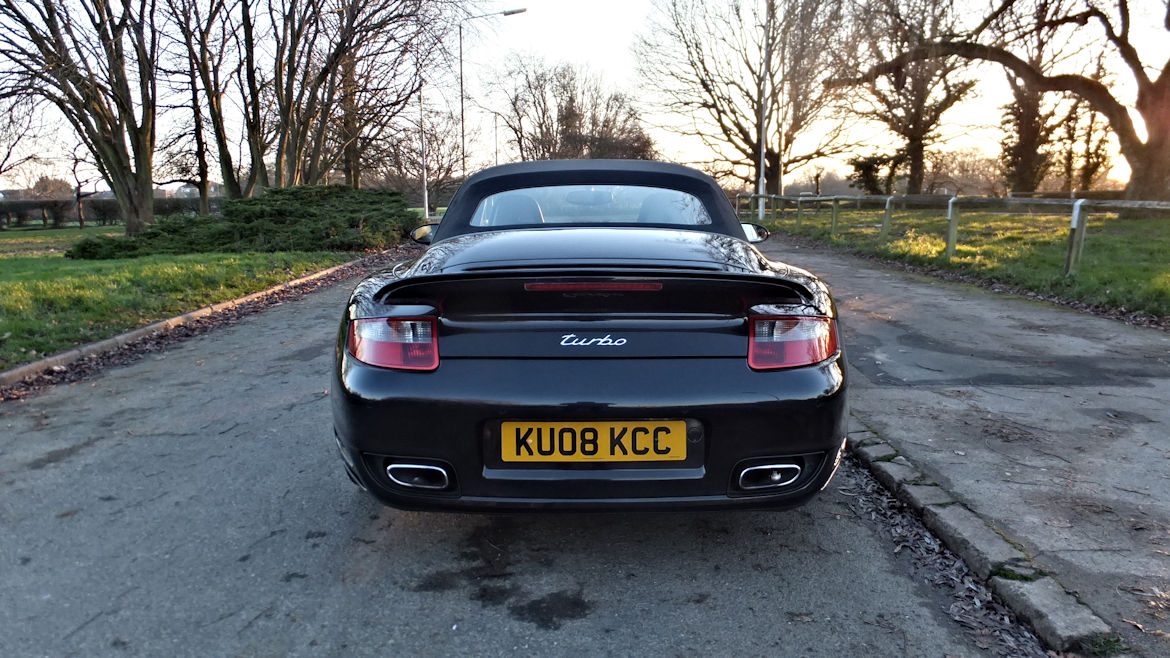 Porsche 997 Turbo Cabriolet Tiptronic S Superb Low MIleage Car
