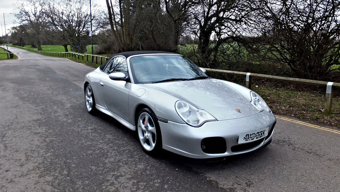 Porsche 996 C4S Tiptronic S Cabriolet Superb High Spec  Car