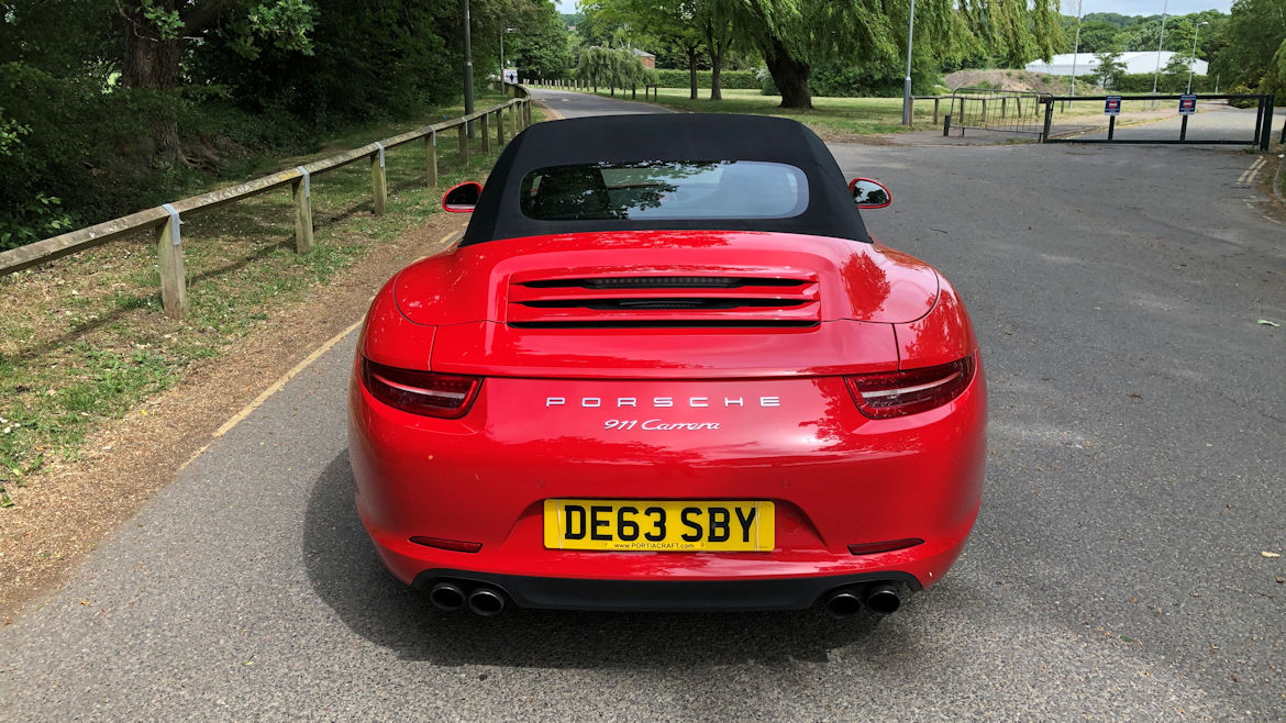 Porsche 991 C2 PDK Cabriolet My Own Car And Simply A Stunning Mega Spec Car
