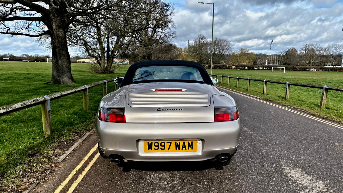 Porsche 996 C2 Cabriolet Tiptronic S One Of The Best Early Cars We Have Seen For A Long Time Simply Stunning
