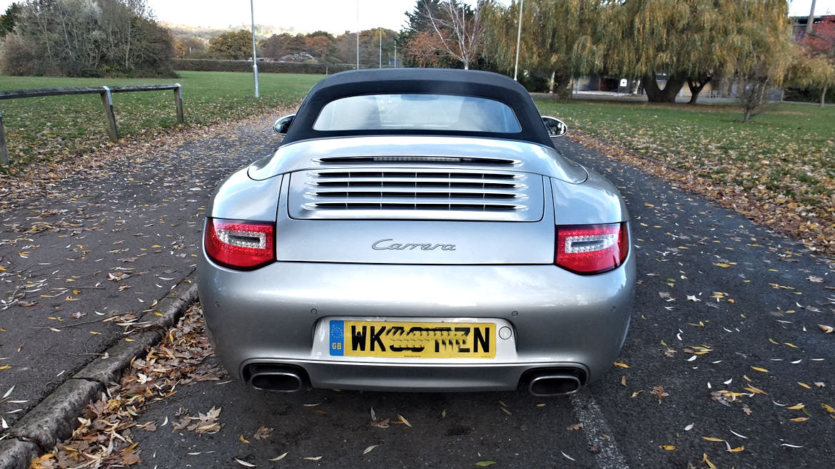 Porsche 997 Gen 2 PDK Cabriolet Low miles And Sensibly Priced
